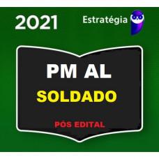 SOLDADO - PM AL ( POLÍCIA MILITAR DE ALAGOAS - PMAL) - PÓS EDITAL - ESTRATEGIA 2021