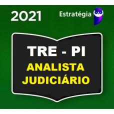 TRE PI - ANALISTA JUDICIÁRIO (ÁREA JUDICIÁRIA) DO TRIBUNAIS REGIONAL ELEITORAL DO PIAUÍ  TRE-PI - PRÉ EDITAL - ESTRATÉGIA - 2021