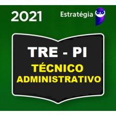 TRE PI - TÉCNICO JUDICIÁRIO (ÁREA ADMINISTRATIVA) DO TRIBUNAIS REGIONAL ELEITORAL DO PIAUÍ  TRE-PI - PRÉ EDITAL - ESTRATÉGIA - 2021