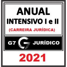 COMBO ANUAL COMPLETO (MÓDULOS INTENSIVOS I E II + COMPLEMENTARES + LPE) - G7 JURÍDICO 2021