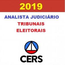 ANALISTA JUDICIÁRIO DE TRIBUNAIS ELEITORAIS - CERS 2019