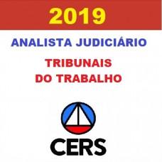 ANALISTA JUDICIÁRIO DE TRIBUNAIS DO TRABALHO - CERS 2019