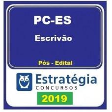 PC ES (ESCRIVÃO) ESTRATÉGIA 2019 - PÓS EDITAL