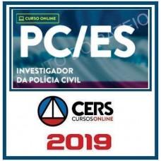 PC ES - INVESTIGADOR - PÓS EDITAL - CERS 2019