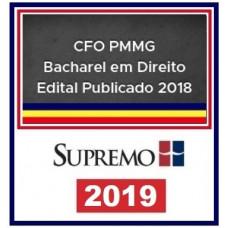 PM MG (OFICIAL) CFO PMMG - DIREITO - PÓS EDITAL - SUPREMO 2019
