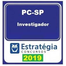 PC SP -INVESTIGADOR DA POLÍCIA CIVIL DE SÃO PAULO - PC-SP - ESTRATEGIA 2019