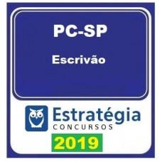 PC SP - ESCRIVÃO DA POLÍCIA CIVIL DE SÃO PAULO - PC-SP - ESTRATEGIA 2019