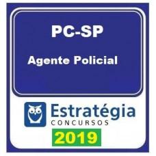 PC SP - AGENTE POLICIAL - POLÍCIA CIVIL DE SÃO PAULO - PC-SP - ESTRATEGIA 2019