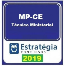 MP CE - TÉCNICO MINISTERIAL - ESTRATÉGIA 2019