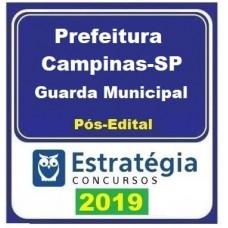 PREFEITURA DE CAMPINAS - GUARDA MUNICIPAL - ESTRATÉGIA 2019