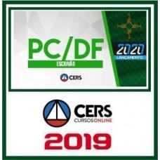 PC DF - CURSO ESCRIVÃO DA POLICIA CIVIL DO DISTRITO FEDERAL - PCDF - PÓS EDITAL - CERS - 2019