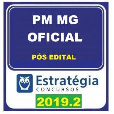 PM MG - OFICIAL - PÓS EDITAL - ESTRATEGIA - 2019.2
