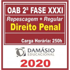 2ª (segunda) Fase OAB XXXI (31º Exame) DIREITO PENAL - DAMÁSIO 2020