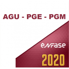 ADVOCACIA PÚBLICA - AGU - PGE - PGM - ENFASE 2020