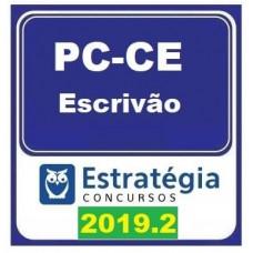 PC CE - ESCRIVÃO POLÍCIA CIVIL DO CEARÁ - PCCE  - ESTRATÉGIA 2019.2