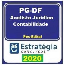 PGDF - ANALISTA JURÍDICO - CONTABILIDADE  - PÓS EDITAL - ESTRATÉGIA 2019.2