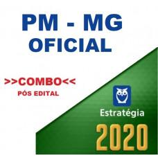 PM MG - OFICIAL DA  POLÍCIA MILITAR DE MINAS GERAIS - TEORIA + PASSO ESTRATÉGICO PMMG PÓS EDITAL - ESTRATÉGIA 2020