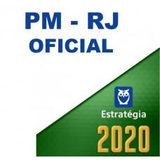 PM RJ - OFICIAL DA  POLÍCIA MILITAR DO RIO DE JANEIRO PMRJ  - ESTRATÉGIA 2020