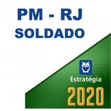 PM RJ - SOLDADO DA  POLÍCIA MILITAR DO RIO DE JANEIRO PMRJ  - ESTRATÉGIA 2020