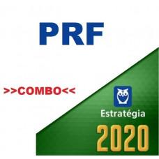 PRF - POLICIAL RODOVIÁRIO FEDERAL - TEORIA + PASSO ESTRATÉGICO - ESTRATÉGIA 2020