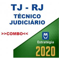 TJ RJ - TÉCNICO JUDICIÁRIO - TJRJ - TEORIA + PASSO ESTRATÉGICO - ESTRATÉGIA 2020