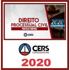 CURSO DE PRÁTICA JURÍDICA - DIREITO PROCESSUAL CIVIL  (CERS 2020)
