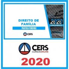 CURSO DE PRÁTICA JURÍDICA - DIREITO DE FAMÍLIA  (CERS 2020)