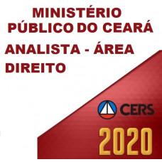 MPCE - ANALISTA DO MINISTÉRIO PÚBLICO DO CEARÁ MP CE - ÁREA DIREITO  - PÓS EDITAL - (CERS  2020)