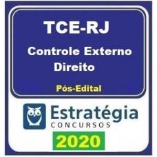 CURSO TCE RJ (ANALISTA CONTROLE EXTERNO - DIREITO) PÓS EDITAL - ESTRATEGIA 2020