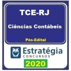 CURSO TCE RJ (ANALISTA CONTROLE EXTERNO - CIÊNCIAS CONTÁBEIS) PÓS EDITAL - ESTRATEGIA 2020