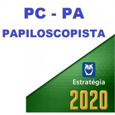 PAPILOSCOPISTA PC PA (POLICIA CIVIL DO PARÁ - PCPA) - ESTRATEGIA 2020