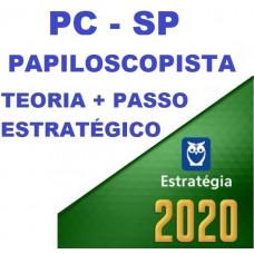 PAPILOSCOPISTA PC SP (POLICIA CIVIL DE SÃO PAULO - PCSP) TEORIA + PASSO ESTRATÉGICO - ESTRATEGIA 2020