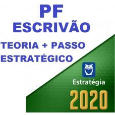 ESCRIVÃO DA PF (POLICIA FEDERAL) TEORIA + PASSO ESTRATÉGICO - ESTRATEGIA 2020