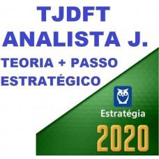 TJDFT - ANALISTA JUDICIÁRIO - ÁREA JUDICIÁRIA - TEORIA + PASSO ESTRATÉGICO - ESTRATEGIA 2020