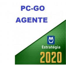 AGENTE - PC GO ( POLÍCIA CIVIL DE GOIÁS - PCGO ) - ESTRATEGIA 2020