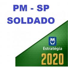 SOLDADO - PM SP ( POLÍCIA MILITAR DE SÃO PAULO - PMSP) - ESTRATEGIA 2020