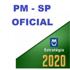 OFICIAL - PM SP ( POLÍCIA MILITAR DE SÃO PAULO - PMSP) - ESTRATEGIA 2020