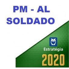 SOLDADO - PM AL ( POLÍCIA MILITAR DE ALAGOAS - PMAL) - ESTRATEGIA 2020