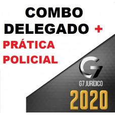 COMBO:  CURSO DELEGADO CIVIL + PRÁTICA POLICIAL - G7 JURÍDICO 2020