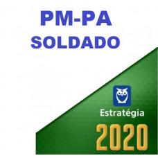SOLDADO - PM PA ( POLÍCIA MILITAR DO PARÁ - PMPA) - ESTRATEGIA 2020