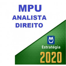 MPU - ANALISTA - DIREITO - ESTRATEGIA 2020