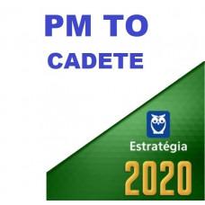 PM TO - CADETE DA POLÍCIA MILITAR DE TOCANTINS - PMTO - ESTRATEGIA 2020