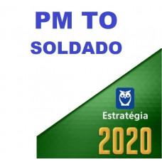 PM TO - SOLDADO DA POLÍCIA MILITAR DE TOCANTINS - PMTO - ESTRATEGIA 2020