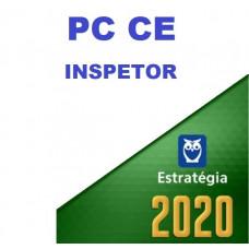 PC CE - INSPETOR DE POLÍCIA - PCCE - ESTRATEGIA 2020