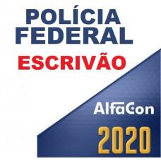 PF - ESCRIVÃO DA POLÍCIA FEDERAL 2020 - ALFACON
