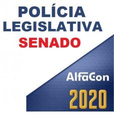 SENADO - POLICIAL LEGISLATIVO DO SENADO FEDERAL 2020 - ALFACON