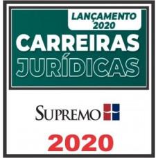 CURSO CARREIRAS JURÍDICAS ANUAL - SUPREMO 2020