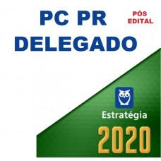 PC PR - DELEGADO DA POLÍCIA CIVIL DO PARANÁ - PCPR - ESTRATÉGIA - PÓS EDITAL 2020