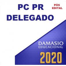 RETA FINAL PC PR - DELEGADO DA POLÍCIA CIVIL DO PARANÁ - PCPR - DAMÁSIO - PÓS EDITAL 2020