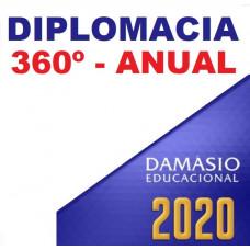 CURSO PARA DIPLOMACIA 360º - ANUAL - DAMÁSIO 2020
